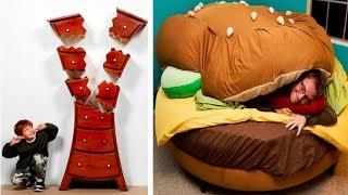 Самая креативная и странная мебель в мире