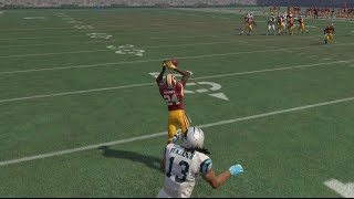 Can Josh Norman Now a Washington Cornerback Get a Pick 6 on Cam Newton!? Funny Madden 16 Gameplay