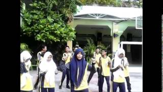 Senam Irama SMPN 7 Surabaya Kelas 8 8 Kelompok 3