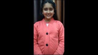 My first Short Video - Aastha Gupta | #Shorts