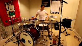 Red Hot Chili Peppers - Can't Stop - Drum Cover by Kenneth Wong