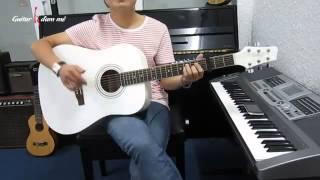 Dạy Học Guitar] [Đệm Hát] [Điệu Piano Ballad]   Tình về nơi đâu   Thanh Bùi