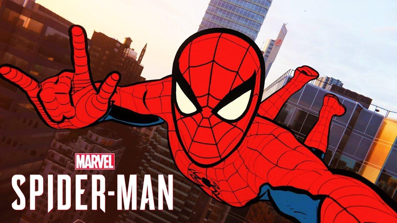Homem Aranha Desenho Animado Vs Screwball Spider Man Ps4 Youtube