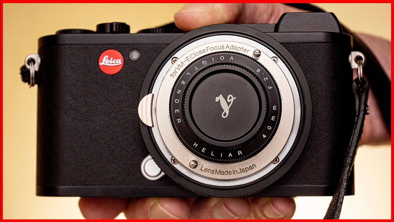 Download 🔴 My SMALLEST Leica M Lens!   Voigtlander Heliar 40mm f2.8 Review VM + Close Focus Adapter