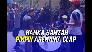 "HAMKA HAMZAH PIMPIN ""AREMANIA CLAP"" BERSAMA AREMANIA HALOKES"