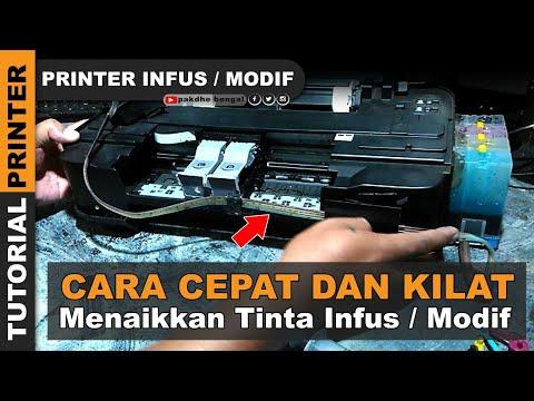 TUTORIAL - Cara Pemasangan Infus Printer Canon MP 287 dengan Benar dan Mudah || Bisa coba di rumah.
