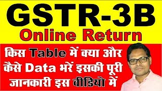 Online GSTR3B Return | How to File Online GSTR3B Return | GSTR3B कैसे फाइल करें By The Accounts