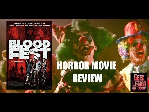 BLOOD FEST ( 2018 Zachary Levi ) Meta Horror Movie Review streaming vf