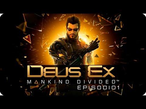 DEUS EX: MANKING DIVIDED Ep.1 | Conociendo a Adam Jensen | Lady Boss