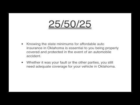 Cheap Car Insurance Quotes In Oklahoma