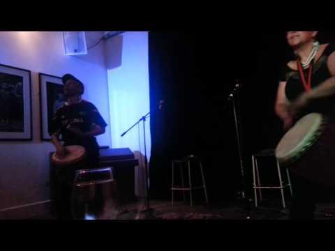 Sharing Rhythms at Anti- FGM concert London  May 2014