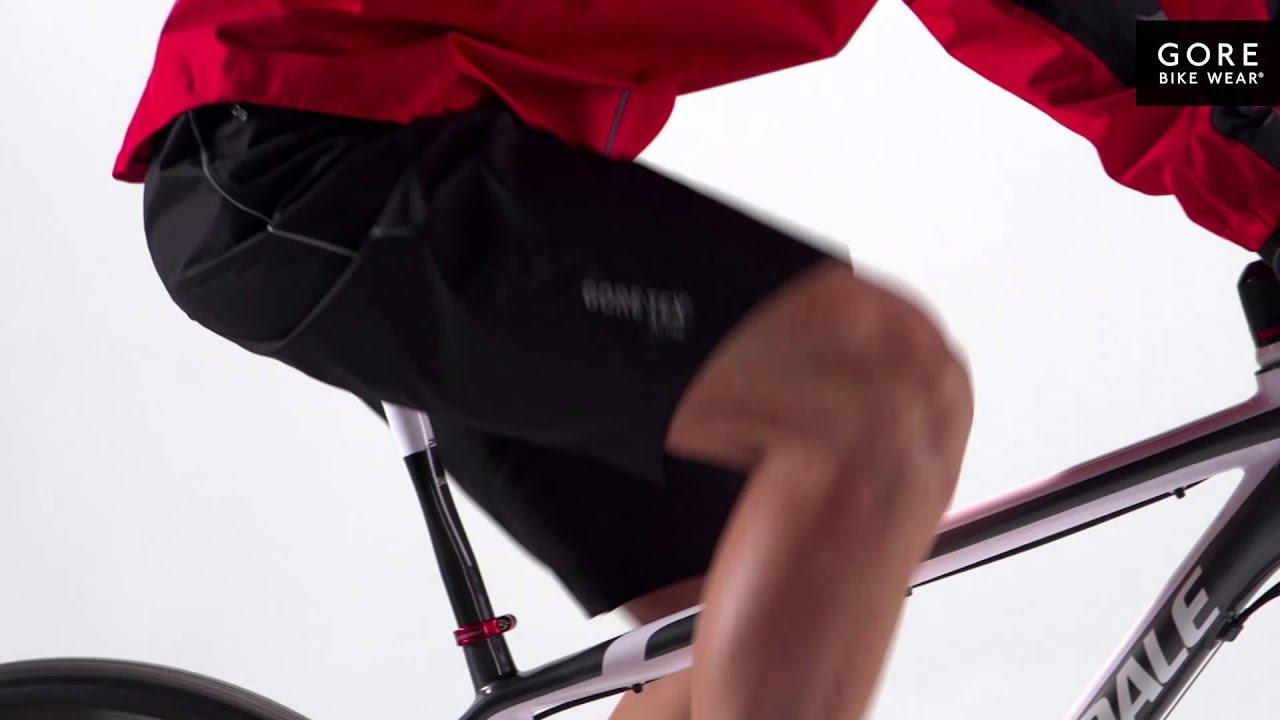 gore tex cycling shorts