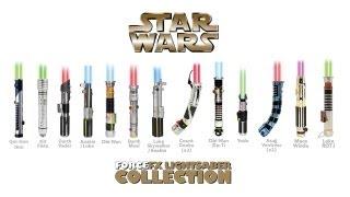 Star Wars Master Replica & Hasbro Lightsabers