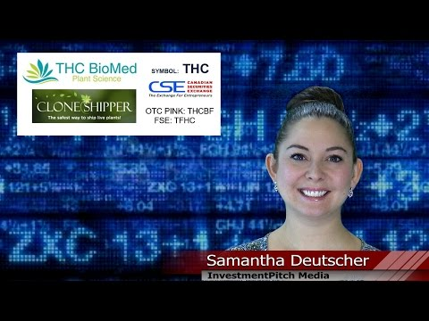 THC BioMed (CSE: THC) entered into an exclusive distribution agreement with Clone Shipper