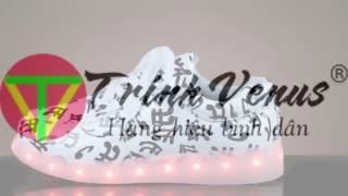 Giày đèn led - Giày đèn led nam nữ shop hàng hiệu bình dân