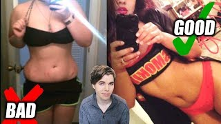 Ideal Bodies For Women (Ugly vs Attractive Pictures)