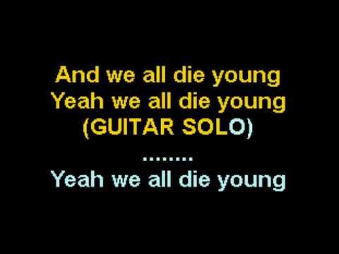 We All Die Young Steel Dragon Karaoke CustomKaraoke RARE custom