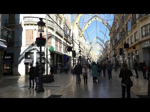 Best Shopping Street In Malaga Spain 1/2