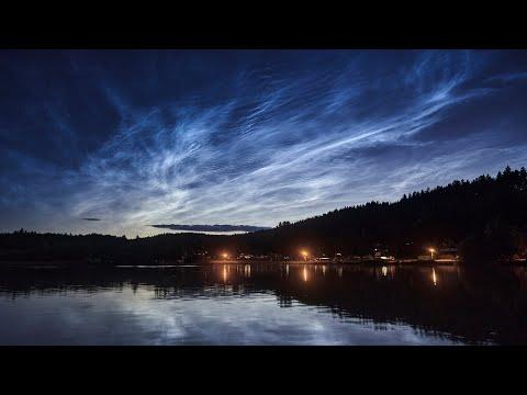 Silná noční svítící oblaka 5.7.2020
