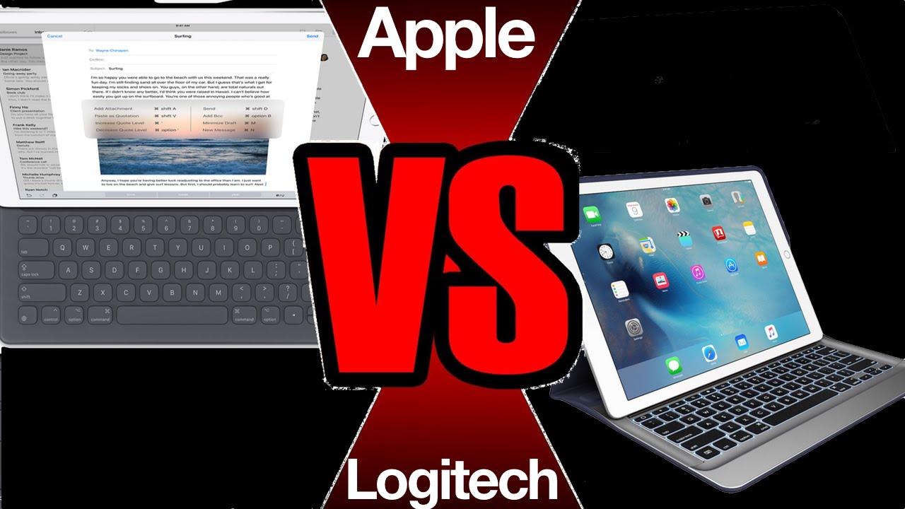537d29f6c33 iPad Pro Smart Connector shootout: Apple Smart Keyboard vs. Logitech Create  - YouTube