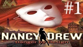 Nancy Drew: Danger By Design Walkthrough part 1