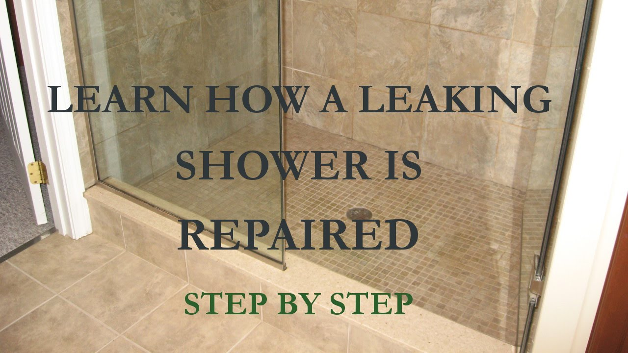 Marble Shower Leak Repair MA RI 508-880-6001 - YouTube