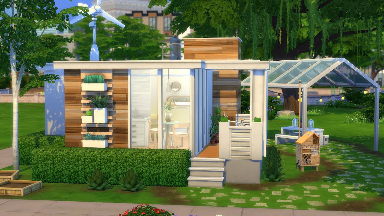 TINY HOUSE FOR ONE | The Sims 4 | Speed Build | NO CC