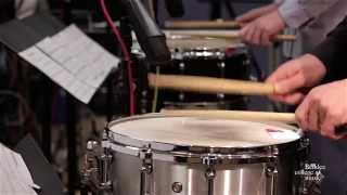 "Berklee Orchestral Snare Duo, ""War Drum Peace Drum"""