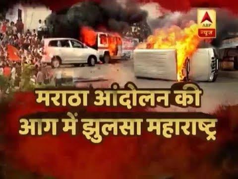 Marathas` demand for quota went raging; Navi Mumbai badly affected