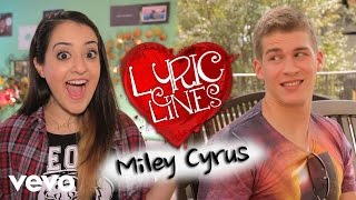 Repeat youtube video Vevo - Vevo Lyric Lines: Ep. 23 – Miley Cyrus