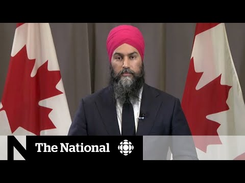 Jagmeet Singh maintains support, targets Liberals at NDP convention