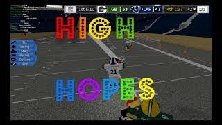ROBLOX Legendary Football Highlights | High Hopes (70 subscriber special)