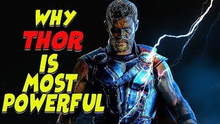 Why Thor is Most Powerful Superhero in MCU | Explained in Hindi