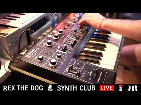 Rex The Dog - Vortex and Roland SH-1 | Synth Club Episode 4
