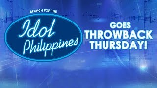 LIVE: Idol Philippines goes Throwback Thursday!