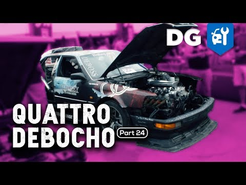 The Only Quad Turbo LS-Swapped Audi at LS Fest 2018! [S2 E9]