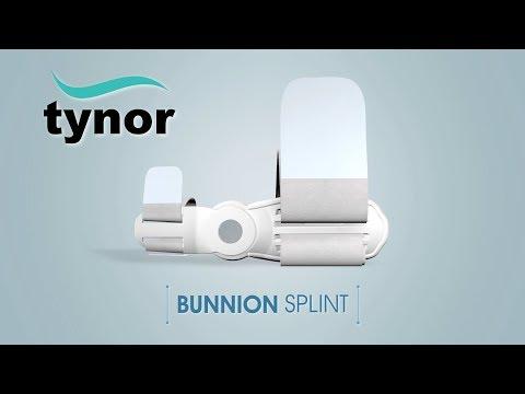 Tynor's Dynamic Bunion Splint To Correct  Hallux Valgus Deformity