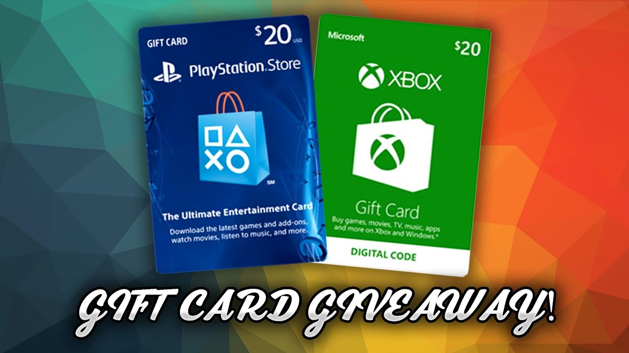 Playstation Plus Card Giveaway