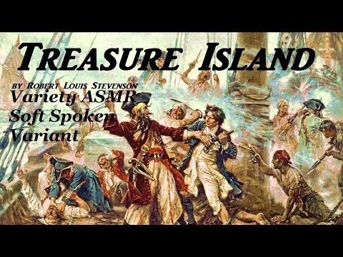 ASMR Reading Treasure Island in a Soft Spoken Voice