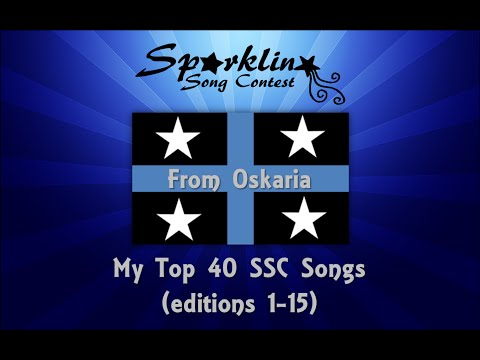 My Top 40 of the Sparkling Song Contest (editions 1-15) from Oskaria