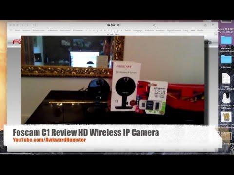 Foscam C1 Review HD Wireless IP Camera