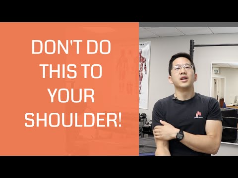 Worst mistakes for shoulder pain 2 TERRIBLE shoulder exercises and 2 good exercises!