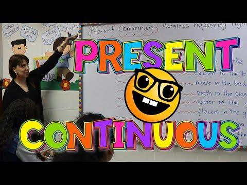 Como Usar El Presente Continuo En Ingles Explicacion Del