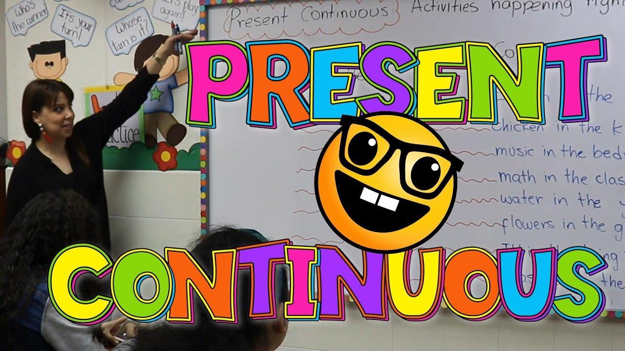 Como Usar El Presente Continuo En Ingles Explicacion Del Presente Progresivo En Ingles