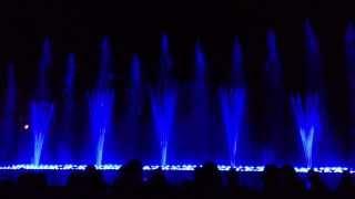 Шоу танцующих фонтанов на Кипре г. Протарас