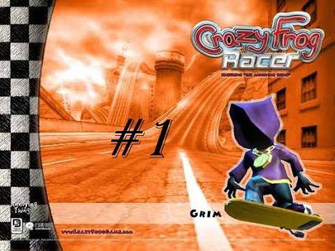 Играем в Crazy Frog Racer #1 (Первый чемпионат, первые кубки!)
