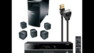Unboxing The Bose Acoustimass 6 Series 3 And The Yamaha RX-V375 Receiver