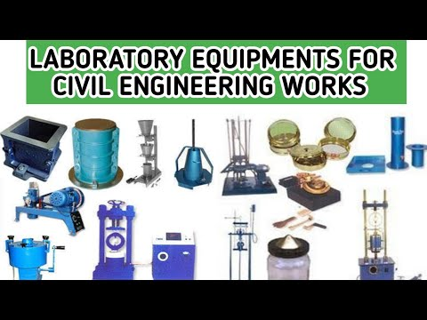 Laboratory Equipments For Civil Engineering Works