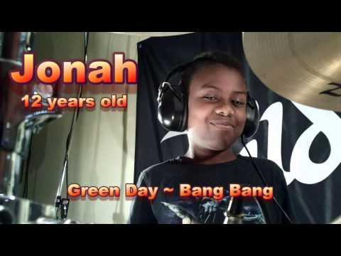 Green Day - Bang Bang. Drum Cover, Jonah, Age 12