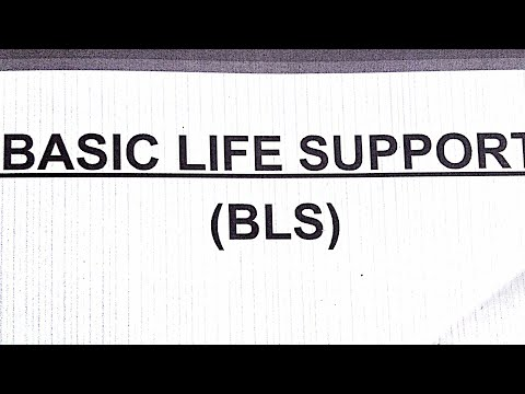 BLS basic life support by Dr hemant sharma